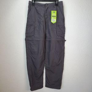 REI Sahara Conv Gray Hiking Pant
